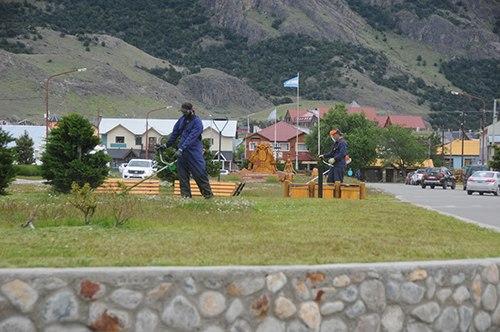 mantenimiento espacios verdes